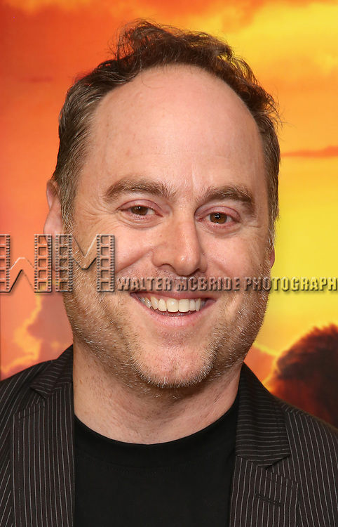 """Jim Ferris attends the Broadway screening of the Motion Picture Release of """"The Lion King"""" at AMC Empire 25 on July 15, 2019 in New York City."""