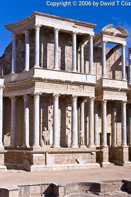 Roman Theater, 16 BC, Merida, Spain