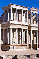 Roman Theater, 16 BC, Merida, Spain