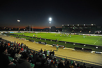 A general view of FMG Stadium during the ITM Cup rugby match between Manawatu Turbos and Wellington Lions at FMG Stadium, Palmerston North, New Zealand on Friday, 25 August 2012. Photo: Dave Lintott / lintottphoto.co.nz