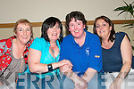 BIRTHDAY SMILES: Martina Griffin, Cahill's Park, Tralee (2nd right), who is secretary of the Kerins O'Rahillys GAA club, celebrated her 37th birthday on Saturday in the new club house. Pictured l-r: Catherine Casey, Jacinta Powell, Martina Griffin and Maria O'Shea.   Copyright Kerry's Eye 2008