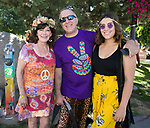 "Toni, Larry and Serafina during the Pops on the River ""A night at Woodstock"" concert at Wingfield Park in downtown Reno on Saturday, July 13, 2019."