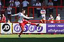 Robin Shroot of Stevenage shoots<br />  - Stevenage v Bradford City - Sky Bet League 1 - Lamex Stadium, Stevenage - 31st August, 2013<br />  © Kevin Coleman 2013
