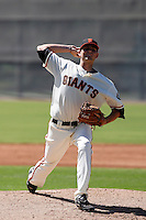 Chris Heston -San Francisco Giants 2009 Instructional League. .Photo by:  Bill Mitchell/Four Seam Images..