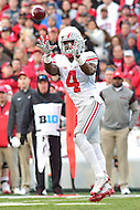 College Park, MD - NOV 12, 2016: Ohio State Buckeyes running back Curtis Samuel (4) catches a swing pass out the backfield during game between Maryland and Ohio State at Capital One Field at Maryland Stadium in College Park, MD. (Photo by Phil Peters/Media Images International)