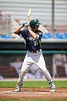 Vermont Lake Monsters left fielder Luke Persico (32) at bat during a game against the Auburn Doubledays on July 13, 2016 at Falcon Park in Auburn, New York.  Auburn defeated Vermont 8-4.  (Mike Janes/Four Seam Images)