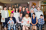 New Arrival<br /> ----------------<br /> Ger&amp;Margaret Murphy, Craig, Castleisland had Fr Dan Riordan Christen their new baby Ella, in St Stephans&amp;John's church in the town last Saturday and after to a family celebration in O'Riada's, Ballymac.
