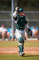 Michigan State Spartans catcher Chad Roskelly (24) during a game against the Illinois State Redbirds on March 8, 2016 at North Charlotte Regional Park in Port Charlotte, Florida.  Michigan State defeated Illinois State 15-0.  (Mike Janes/Four Seam Images)