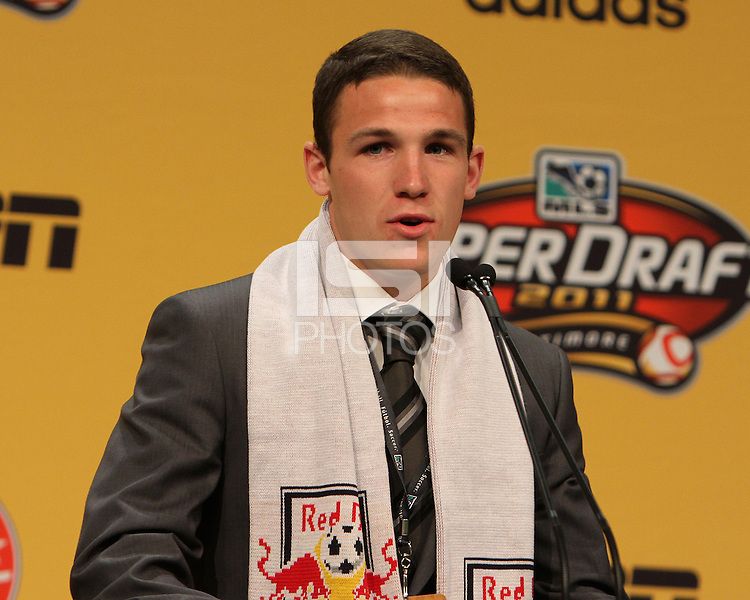 John Rooney at the 2011 MLS Superdraft, in Baltimore, Maryland on January 13, 2010.