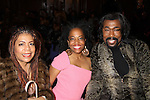 Rhonda Ross (A/W) and Ashford & Simpson (Nickolas Ashford & Valerie Simpson) attended B Michael America Couture Collection - Fall/Winter collection (Fashion Show) on February 15, 2011 at the Plaza Hotel, New York City, New York. (Photo by Sue Coflin/Max Photos)
