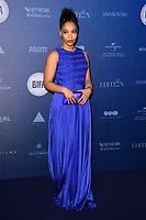 Naomi Ackie<br /> arriving for the British Independent Film Awards 2017 at Old Billingsgate, London<br /> <br /> <br /> &copy;Ash Knotek  D3359  10/12/2017