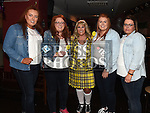 Jennifer Nash celebrating her 30th birthday with friends Riosin, Rachel, Sarah and Sandra Dyas at The Venue in McHugh's. Photo:Colin Bell/pressphotos.ie