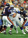 Detroit Lions Jerry Ball (93) during a game from his 1991 season wiith the Detroit Lions. erry Ball played for 14 seasons with 4 different teams and was a 3-time Pro Bowler.(SPORTPICS)