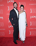 Armie Hammer and Elizabeth Chambers attends LACMA's 50th Anniversary Gala held at LACMA in Los Angeles, California on April 18,2015                                                                               © 2015 Hollywood Press Agency