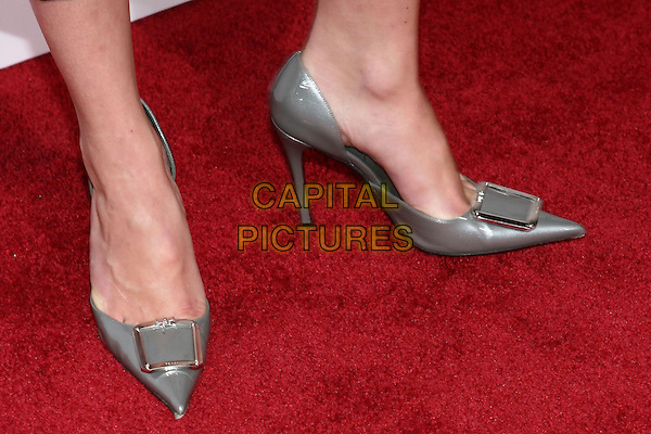 MARLEY SHELTON'S SHOES.'The Exorcism Of Emily Rose' Premiere,.Cinerama Dome, .Hollywood, 7th September 2005.silver grey gray high heel buckle.Ref: ADM/ZL.www.capitalpictures.com.sales@capitalpictures.com.© Capital Pictures.