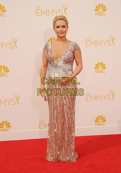 LOS ANGELES, CA- AUGUST 25: Actress Hayden Panettiere  arrives at the 66th Annual Primetime Emmy Awards at Nokia Theatre L.A. Live on August 25, 2014 in Los Angeles, California.<br /> CAP/ROT/TM<br /> &copy;Tony Michaels/Roth Stock/Capital Pictures