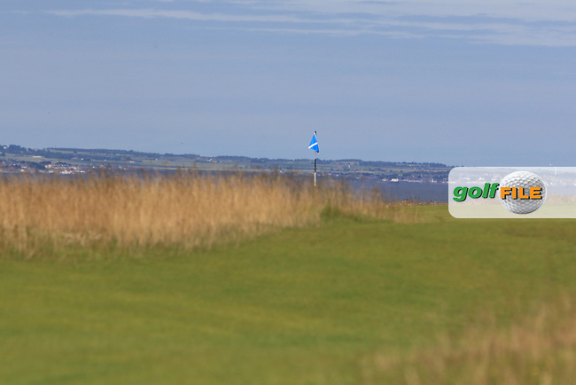 The 3rd during Round 4 of the Aberdeen Standard Investments Scottish Open 2019 at The Renaissance Club, North Berwick, Scotland on Sunday 14th July 2019.<br /> Picture:  Thos Caffrey / Golffile<br /> <br /> All photos usage must carry mandatory copyright credit (© Golffile | Thos Caffrey)