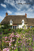Tom Mackie, LANDSCAPES, LANDSCHAFTEN, PAISAJES, photos,+Thatched Cottage & Garden, Hertfordshire, England,Britain, British, EU, England, English, Europa, Europe, European, Great Bri+tain, Hertfordshire, Herts, Tom Mackie, UK, building, buildings, chocolate box, cottage, cottage garden, cottages, portrait,+quaint, thatch,thatched roof, upright, vertical++,GBTM140336-1,#l#, EVERYDAY