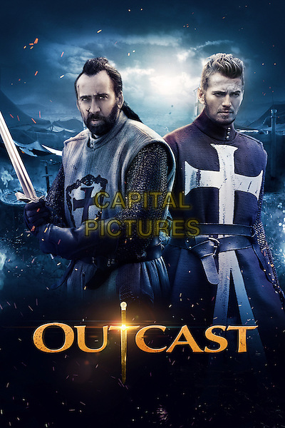 POSTER ART<br /> in Outcast (2014) <br /> *Filmstill - Editorial Use Only*<br /> CAP/NFS<br /> Image supplied by Capital Pictures