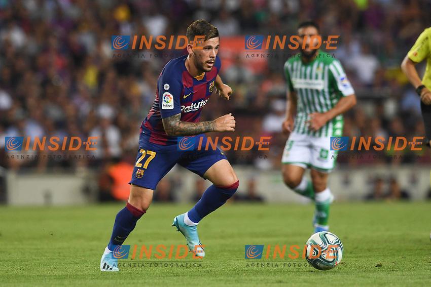 FOOTBALL: FC Barcelone vs Real Betis - La Liga-25/08/2019<br /> Carles Perez (FCB)<br />  <br /> 25/08/2019 <br /> Barcelona - Real Betis  <br /> Calcio La Liga 2019/2020  <br /> Photo Paco Largo/Panoramic/insidefoto