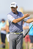 Padraig Harrington (IRL) on the 14th green during Thursday's Round 1 of the Dubai Duty Free Irish Open 2019, held at Lahinch Golf Club, Lahinch, Ireland. 4th July 2019.<br /> Picture: Eoin Clarke | Golffile<br /> <br /> <br /> All photos usage must carry mandatory copyright credit (© Golffile | Eoin Clarke)