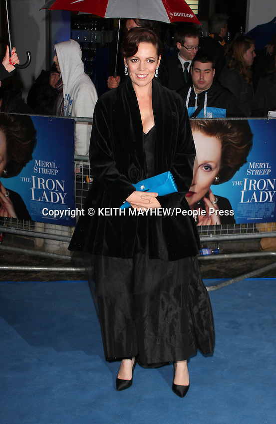 London - UK Premiere of 'The Iron Lady' at the BFI Southbank, London - January 4th 2012..Photo by Keith Mayhew
