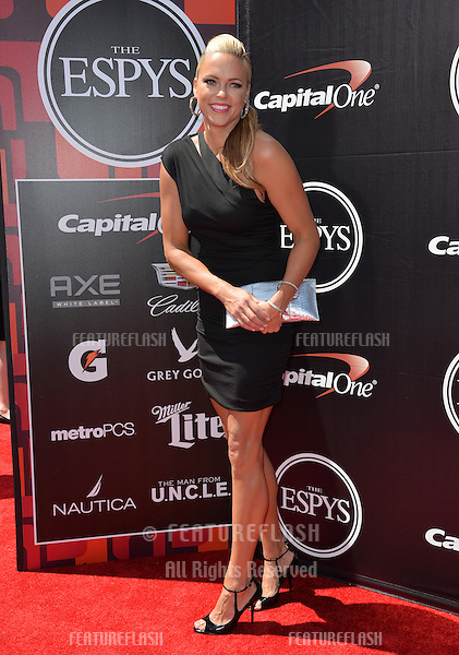 Jennie Finch at the 2015 ESPY Awards at the Microsoft Theatre LA Live.<br /> July 15, 2015  Los Angeles, CA<br /> Picture: Paul Smith / Featureflash