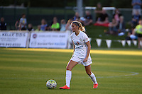 Kansas City, MO - Saturday May 28, 2016: FC Kansas City defender Katie Bowen (21). FC Kansas City defeated Orlando Pride 2-0 during a regular season National Women's Soccer League (NWSL) match at Swope Soccer Village.