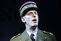 Bob Benton and Daniel Brodie for DB Productions in association with Park Theatre present the World Premiere of<br /> &quot;The Patriotic Traitor&quot;<br /> written and directed by Jonathan Lynn. Picture shows: Laurence Fox (Charles de Gaulle)
