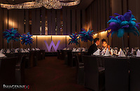 Wedding promotion photo for W Hotel Hong Kong..Model: Phuong Rouzaire.Makeup Artist: Rhine Wong.Hair Stylist: Tim Wong.Photographer: Imagennix | Scott Brooks.Location: Great Room