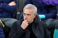 Tottenham Hotspur manager Jose Mourinho before Tottenham Hotspur vs Olympiacos FC, UEFA Champions League Football at Tottenham Hotspur Stadium on 26th November 2019
