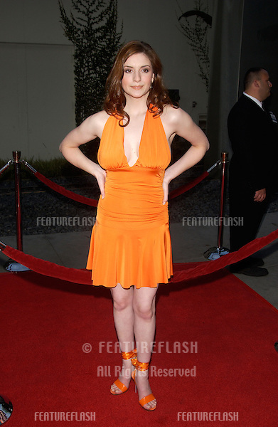 Actress ANNELIESE VAN DER POL at the world premiere, in Hollywood, of Mean Girls..April 19, 2004