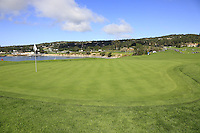The 6th green at Pebble Beach Golf Links during Saturday's Round 3 of the 2017 AT&amp;T Pebble Beach Pro-Am held over 3 courses, Pebble Beach, Spyglass Hill and Monterey Penninsula Country Club, Monterey, California, USA. 11th February 2017.<br /> Picture: Eoin Clarke | Golffile<br /> <br /> <br /> All photos usage must carry mandatory copyright credit (&copy; Golffile | Eoin Clarke)