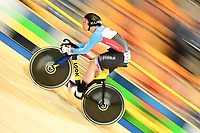 Picture by SWpix.com - 02/03/2018 - Cycling - 2018 UCI Track Cycling World Championships, Day 3 - Omnisport, Apeldoorn, Netherlands - Men's Sprint Qualifying - Stefan Ritter of Canada