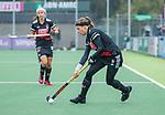AMSTELVEEN - Joy Haarman (Adam)  tijdens de hoofdklasse hockeywedstrijd dames,  Amsterdam-Den Bosch (1-1).   COPYRIGHT KOEN SUYK