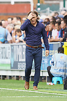 Frustration for Wycombe Wanderers manager Gareth Ainsworth during AFC Wimbledon vs Wycombe Wanderers, Sky Bet EFL League 1 Football at the Cherry Red Records Stadium on 31st August 2019