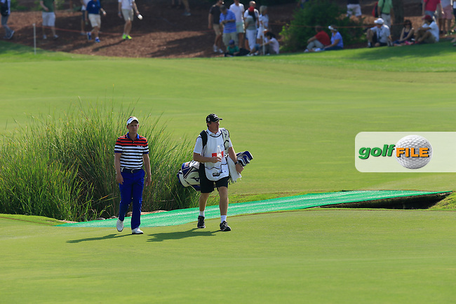 Luke Donald (ENG) during round 2 of the season ending DP World, Tour Championship, Dubai, UAE.<br /> Picture: Denise Cleary www.newsfile.ie