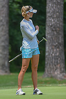 Jessica Korda (USA) watches her putt on 10 during round 2 of the U.S. Women's Open Championship, Shoal Creek Country Club, at Birmingham, Alabama, USA. 6/1/2018.<br /> Picture: Golffile | Ken Murray<br /> <br /> All photo usage must carry mandatory copyright credit (&copy; Golffile | Ken Murray)