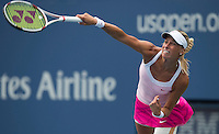 Andrea Hlavackova..Tennis - US Open - Grand Slam -  New York 2012 -  Flushing Meadows - New York - USA - Monday 3rd September  2012. .© AMN Images, 30, Cleveland Street, London, W1T 4JD.Tel - +44 20 7907 6387.mfrey@advantagemedianet.com.www.amnimages.photoshelter.com.www.advantagemedianet.com.www.tennishead.net