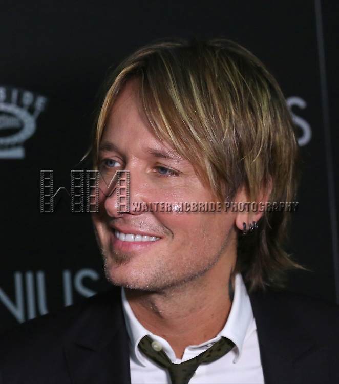 Keith Urban attends 'Genius' New York premiere at Museum of Modern Art on June 5, 2016 in New York City.