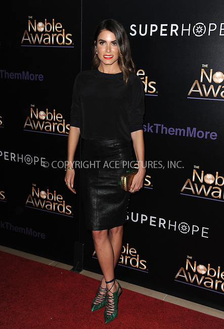 WWW.ACEPIXS.COM<br /> <br /> February 27 2015, LA<br /> <br /> Nikki Reed arriving at the 3rd Annual Noble Awards at The Beverly Hilton Hotel on February 27, 2015 in Beverly Hills, California.<br /> <br /> <br /> By Line: Peter West/ACE Pictures<br /> <br /> <br /> ACE Pictures, Inc.<br /> tel: 646 769 0430<br /> Email: info@acepixs.com<br /> www.acepixs.com