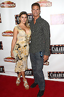 HOLLYWOOD, CA - JULY 20: Shawna Craig and Lorenzo Lamas at the opening of 'Cabaret' at the Pantages Theatre on July 20, 2016 in Hollywood, California. Credit: David Edwards/MediaPunch