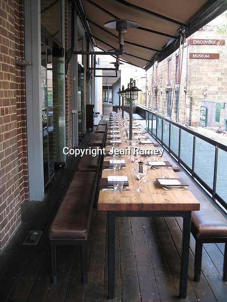 Dining in trendy Sydney