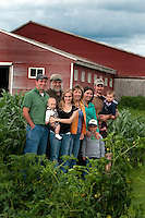 Longway Family, Dairy Farmers, Swanton, Vermont