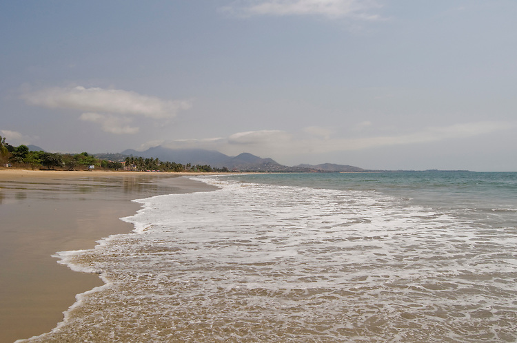 Lumley Beach, Freetown. Sierra Leone. Photo taken February 17, 2010.