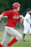Sept. 1st, 2007:  Jonathan Edwards of the Batavia Muckdogs, Short-Season Class-A affiliate of the St. Louis Cardinals at Dwyer Stadium in Batavia, NY.  Photo by:  Mike Janes/Four Seam Images