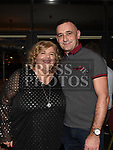 Francis Martin celebrating her 50th birthday with husband James in The D hotel. Photo:Colin Bell/pressphotos.ie