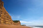 West Bay Cliffs, Dorset, UK