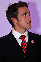 DC United forward Josh Wolff, at the 2011 Season Kick off Luncheon, at the Marriott Hotel in Washington DC, Wednesday March 16 2011.