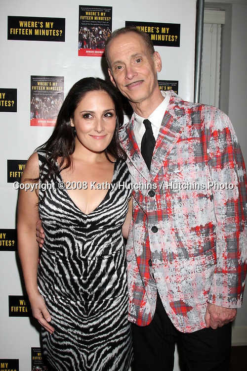 "Rikki Lake & John Waters.Howard Bragman's Book Party for ""Where's My Fifteen Minutes"" at the Chateau Marmont Hotel in West Los Angeles, CA on .January 14, 2009.©2008 Kathy Hutchins / Hutchins Photo..                ."